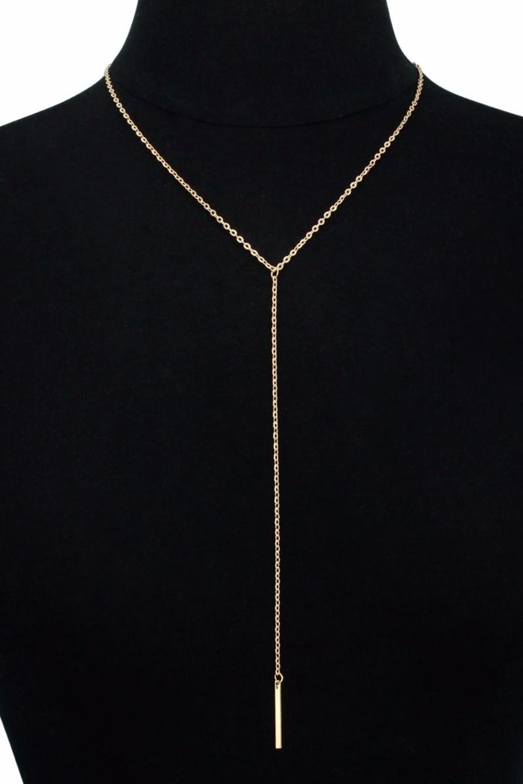 Passiana Y Bar Necklace - Front Cropped Image