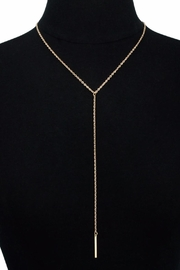 Passiana Y Bar Necklace - Front cropped