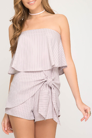 She + Sky Passion for Fashion romper - Product Mini Image