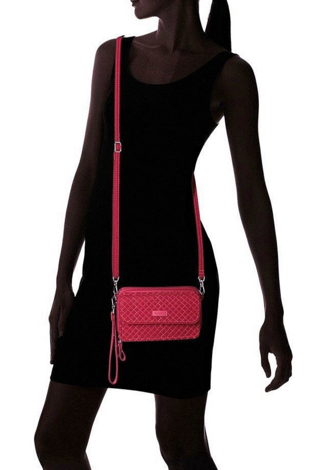 Vera Bradley Passion Pink All-In-One - Back Cropped Image