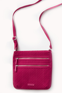 Vera Bradley Passion Pink Triple Zip Hipster - Product List Image