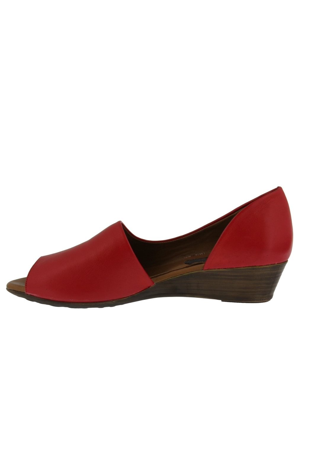 Spring Footwear Passion Red Peep-Toe - Front Full Image