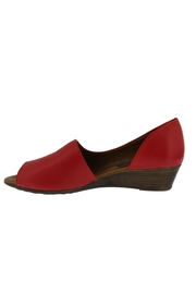 Spring Footwear Passion Red Peep-Toe - Front full body