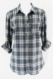 Passport Blue Plaid Shirt - Product Mini Image