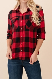 Passport Flannel Plaid Shirt - Product Mini Image