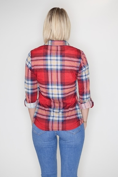Passport Plaid Button Down - Alternate List Image