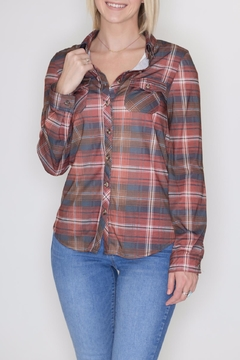 Passport Plaid Button Down - Product List Image