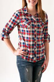 Passport Plaid Button Down - Product Mini Image