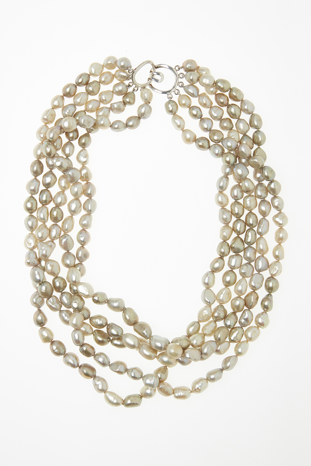 Passports Pearls Baroque Pearl Necklace - Main Image