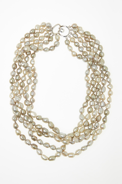 Shoptiques Product: Baroque Pearl Necklace