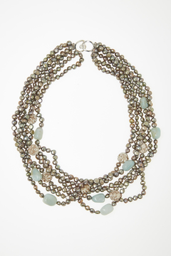 Shoptiques Product: Mixed Stone Necklace