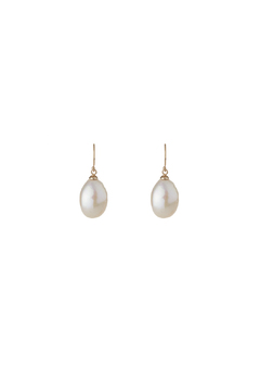 Passports Pearls Pearl Drop Earring - Alternate List Image