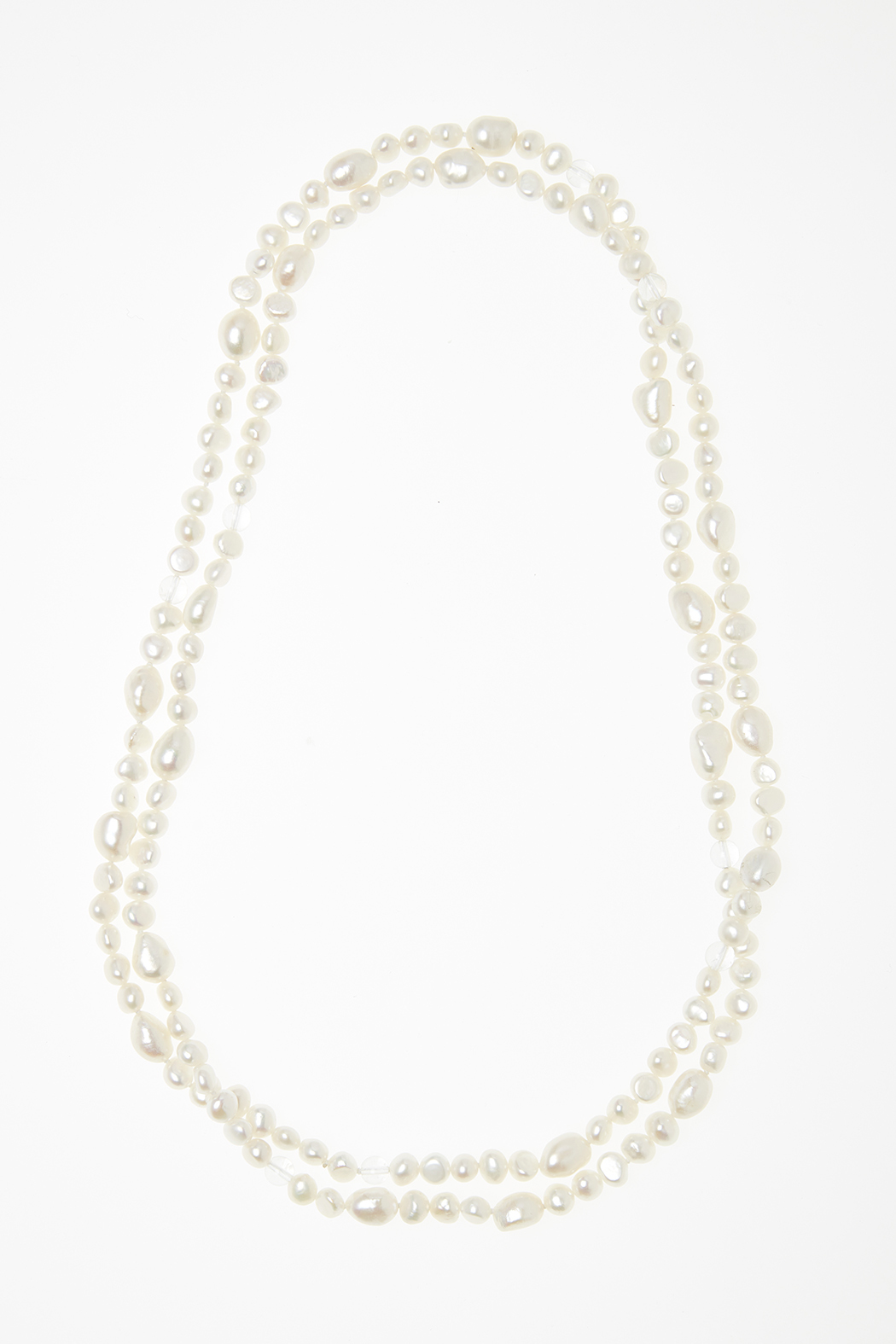 Passports Pearls Pearl & Crystal Necklace - Main Image