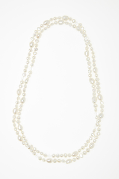 Shoptiques Product: Pearl & Crystal Necklace