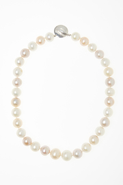 Passports Pearls Natural-hued Pearl Necklace - Front cropped