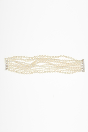 Passports Pearls Ten Strand Pearl Bracelet - Front cropped