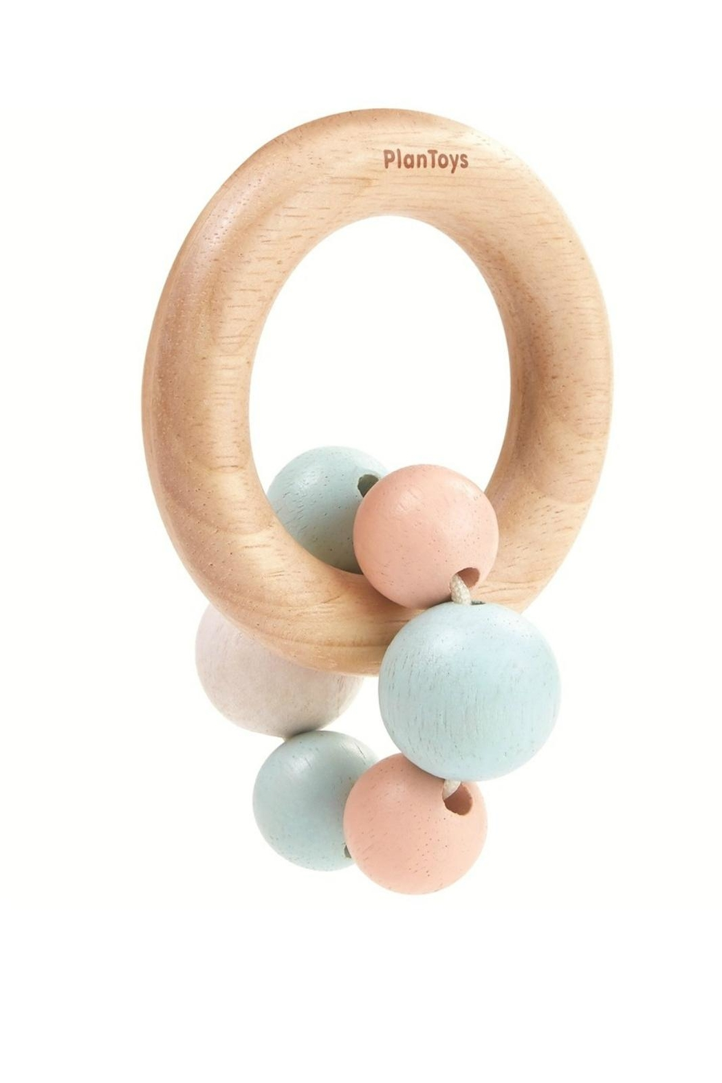 Plan Toys Pastel Beads Rattle - Main Image