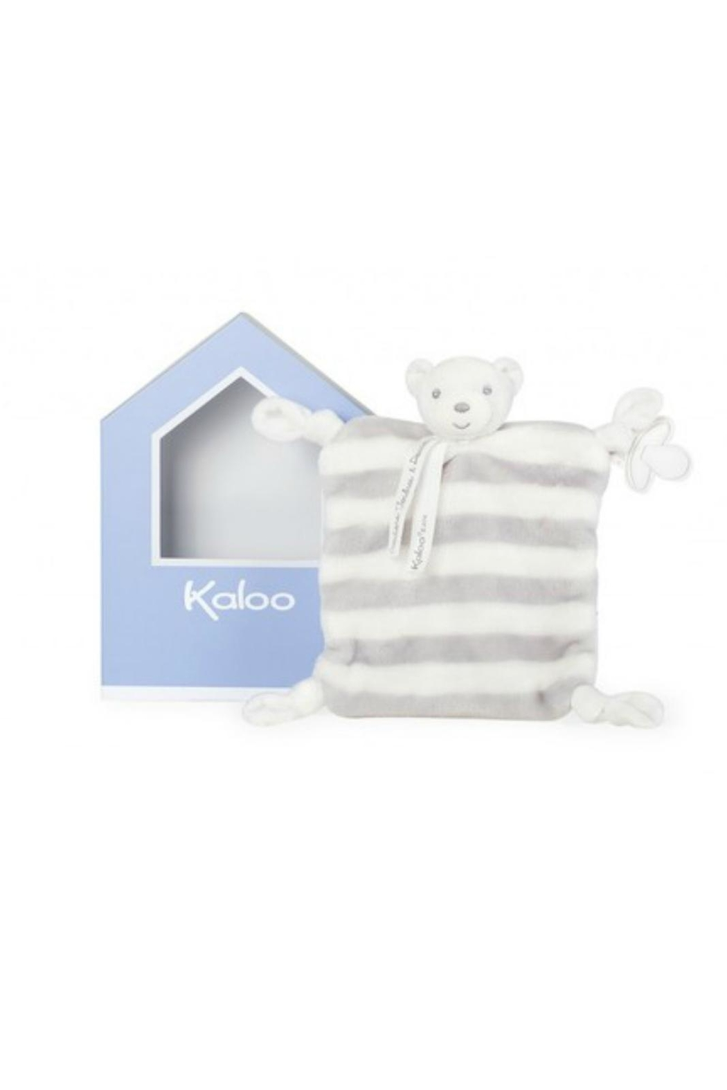 Kaloo Pastel Bear Lovey - Front Cropped Image