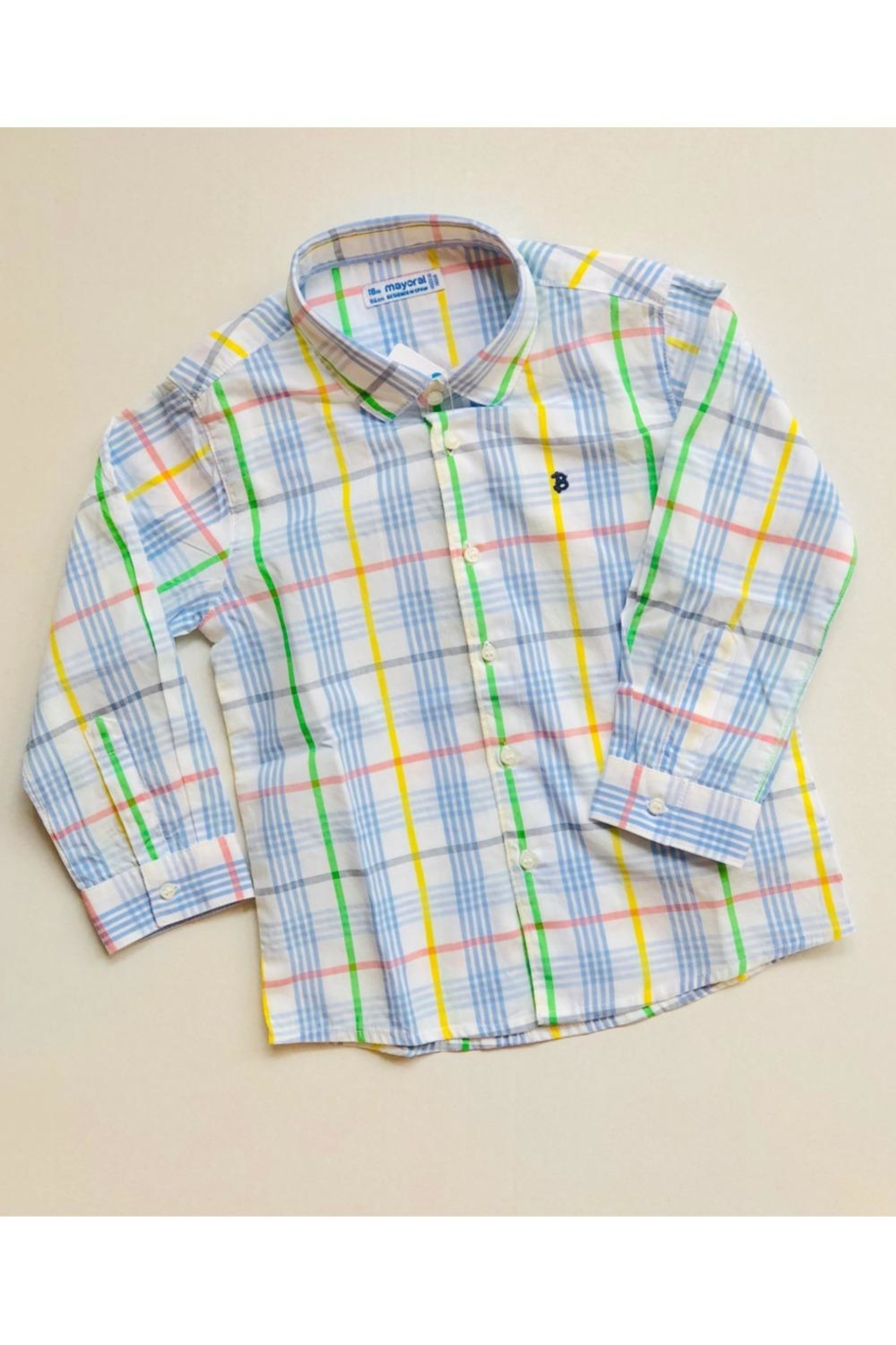 Mayoral Pastel Button Up - Main Image