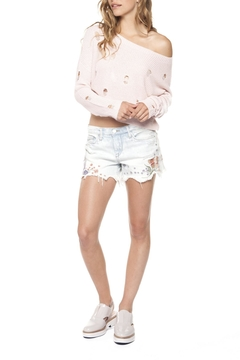 Dex Pastel Embroidered Shorts - Product List Image