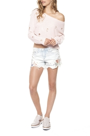Dex Pastel Embroidered Shorts - Product Mini Image
