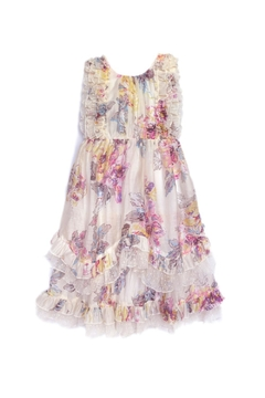 Isobella & Chloe Pastel Flower Dress - Product List Image