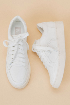 miracle miles  Pastel Stitch Sneaker - Product List Image