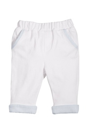 Patachou White Cotton Pants - Product Mini Image