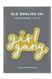 Old English Co. Girl Gang Patch - Product Mini Image