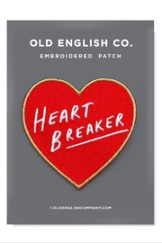 Old English Co. Heatbreaker Patch - Product Mini Image