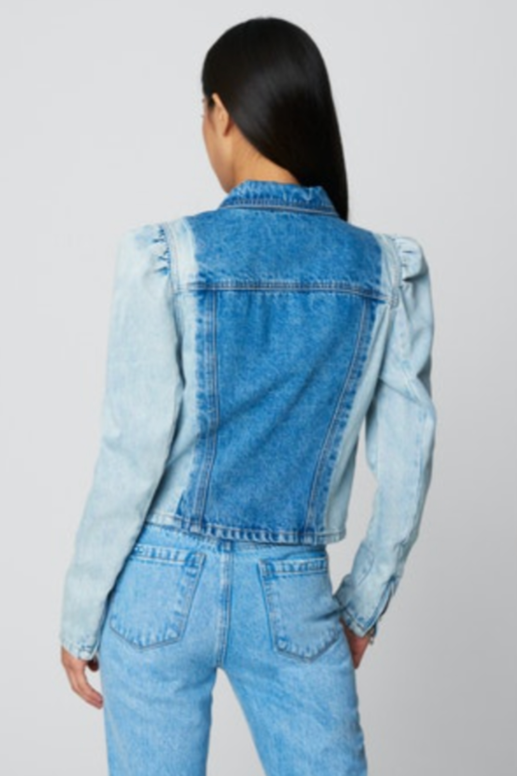 Blank NYC PATCH IT TOGETHER JACKET - Side Cropped Image