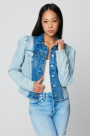 Blank NYC PATCH IT TOGETHER JACKET - Front cropped