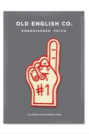 Old English Co. Number 1 Finger Patch - Product Mini Image