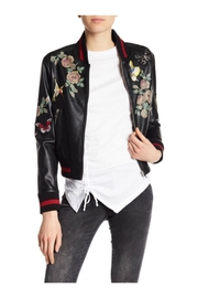 Dex Patch/print Bomber Jacket - Front cropped