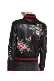 Dex Patch/print Bomber Jacket - Front full body