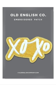 Old English Co. XOXO Patch - Alternate List Image