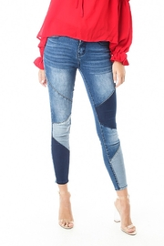 Funky Soul Patched denim pants - Product Mini Image