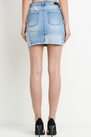 R+D emporium  Patched-Up Denim Skirt - Other