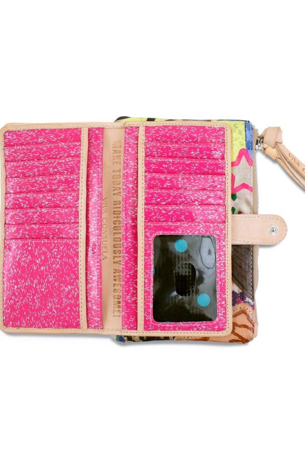 Consuela  Patches Slim Wallet - Front Full Image