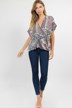 Towne Patchwork Blouse - Alternate List Image
