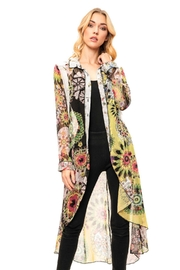 Adore Patchwork Floral Duster - Product Mini Image