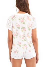 Wildfox Patchwork Floral Tee - Back cropped