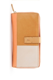abbacino Patchwork Leather Wallet - Front cropped
