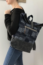 The Lovet Shop Patchwork Print Backpack - Product Mini Image