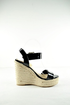 Soda Patent Espadrille Wedge - Alternate List Image