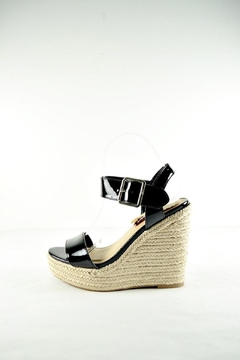 Shoptiques Product: Patent Espadrille Wedge