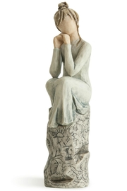 Willow Tree(r) by Susan Lordi, from DEMDACO Patience Figurine - Product Mini Image