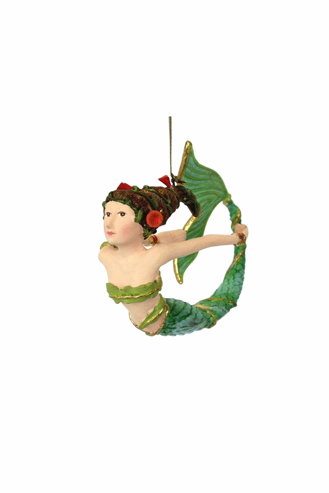 Patience Brewster Lls Mermaid Ornament - Front Full Image