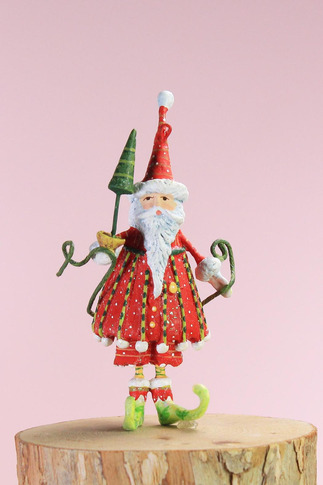 Patience Brewster Mini Dashing Santa - Front Cropped Image