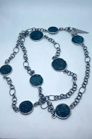 Barry Brinker Fine Jewelry Patina Cast  Necklace - Product Mini Image